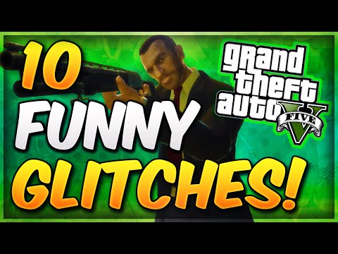 GTA 5 Online - 10 Funny Glitches & Tricks In GTA 5 Online! (Best GTA 5 Glitches Of 2014)