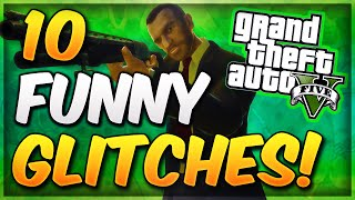 GTA 5 Online - 10 Funny Glitches & Tricks In GTA 5 Online! (Best GTA 5 Glitches )