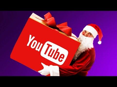 Новогодний подарок от youtube своими руками