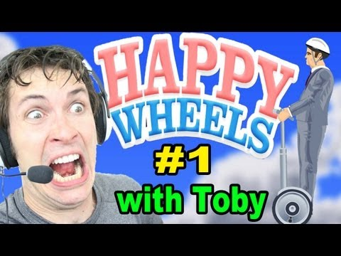 Let's Play Happy Wheels - I'M DEAD - Part 1