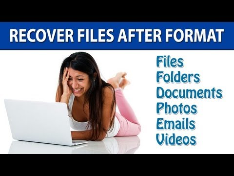 Recover Files After Format With Ease
