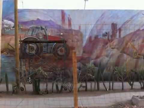 Mural Somos Agua del Distrito de Riego en Navojoa