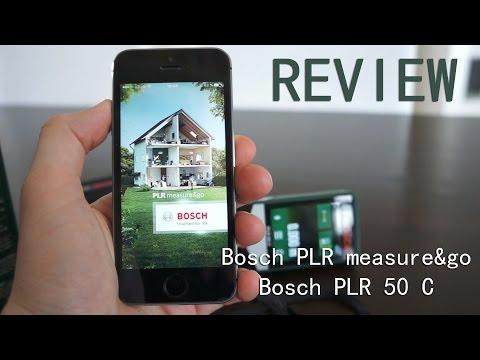 Review: bosch plr measure & go app mit laser entfernungsmesser plr
