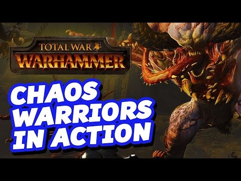 Chaos Warriors in Action - Let's Play Total War: Warhammer