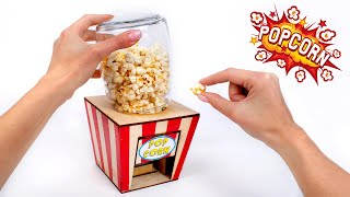 How To Make A Mini Popcorn Machine At Home🍿