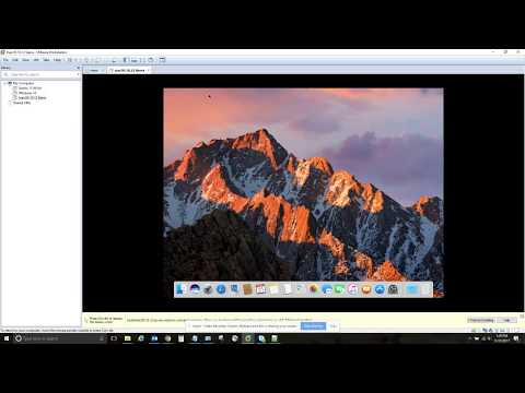 How to install MacOS Sierra 10.12 on VMware on Windows