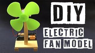 DIY Electric Fan Model    Science Toys For kids   Kendin Yap Mini Vantilatör modeli