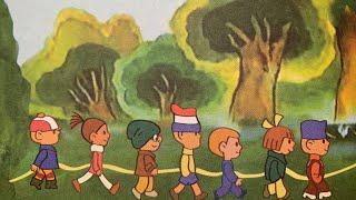 Гирлянда из малышей, сказки мультфильмы союзмультфильм. Читаем вслух детские книги
