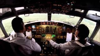 Aterrizando avion conozcan como aterriza la comandante de vuelo jrv