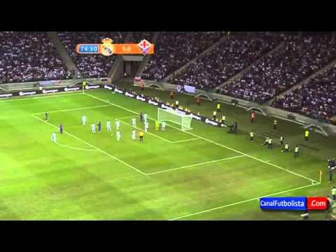 Falso Cristiano Ronado entra em campo no jogo Real Madrid e Fiorentina