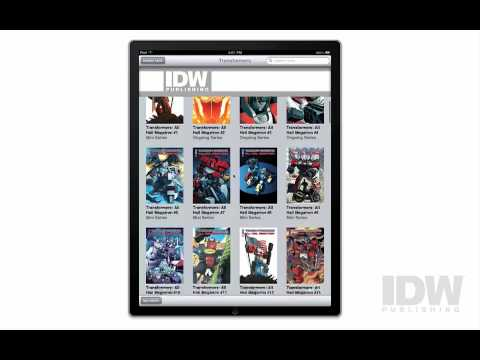 IDW s iPad Comic App