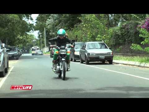 Test Drive Suzuki AX100