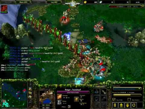 Earthshaker - TiM.Pa SS!on :D. Dota - Earthshaker Rampage. Super Ulti.