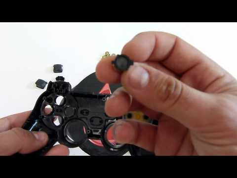 VIDEO-TUT Buttons-Joysticks-DPAD-L1/R1-L2/R2 - PS3 Controller   HG Arts Modz