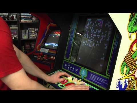 Classic Game Room - CENTIPEDE Arcade Machine review
