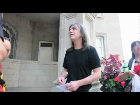 ACâš¡DC Malcolm Young chatting