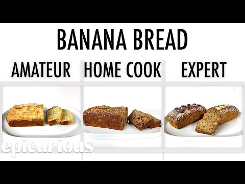 Download 4 Levels of Banana Bread: Amateur to Food Scientist | Epicurious Mp4 baru