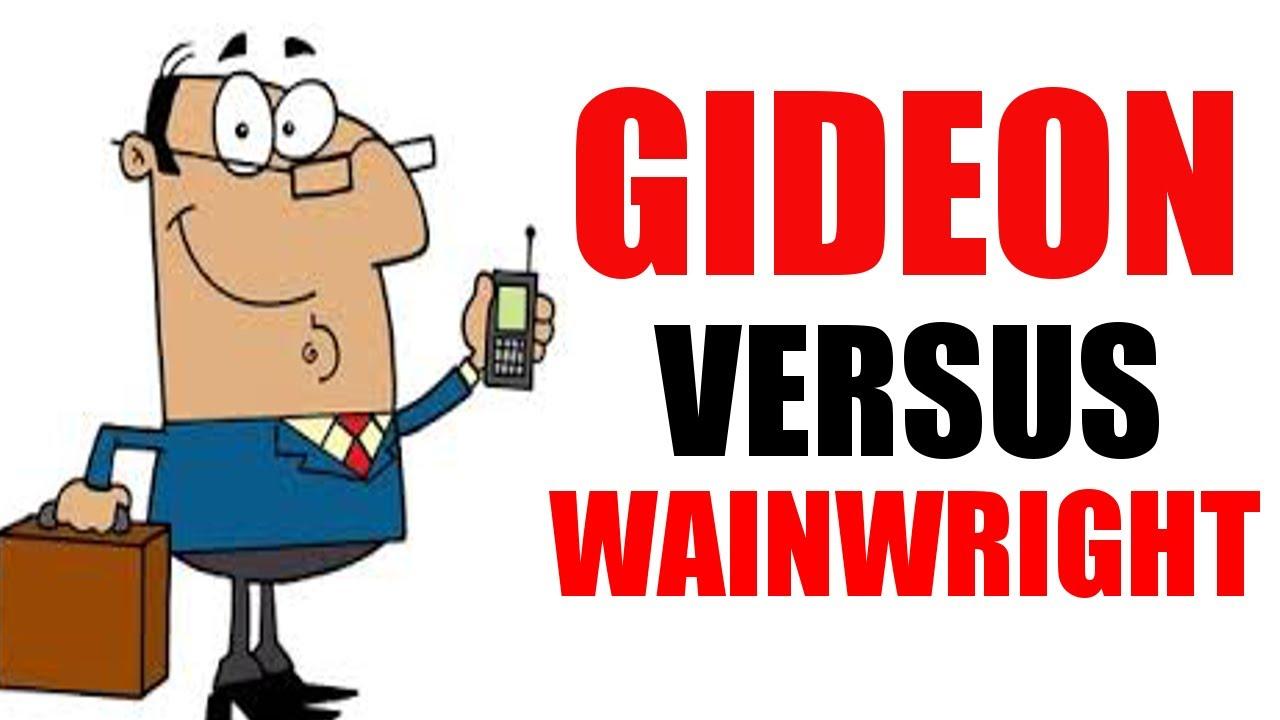 gideon v. wainwright essays for students