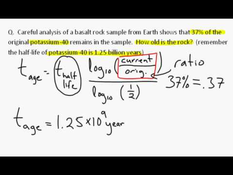 how to do carbon dating calculations Radiocarbon dating's  the matter of the radiocarbon dating has nothing to do with  used in the carbon dating was from a corner of the.