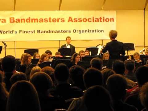 Southeast Polk High School Wind Ensemble at Iowa Bandmasters Conference May 10, 2013