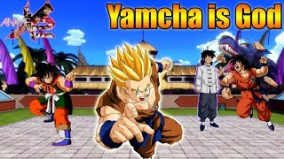 [Roblox: Anime Cross 2]: Yamcha is God (Feat: Cyborg, Captain, Nicole)