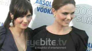 Zoey Deschanel talks love at the 500 Days of Summer Premiere in LA
