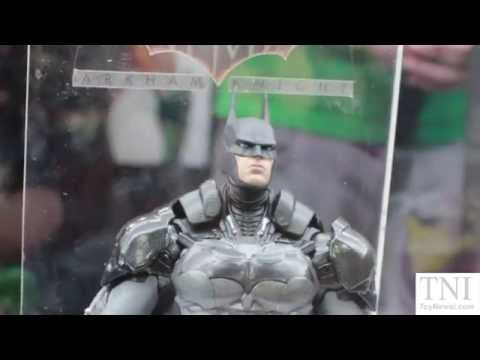 DC Collectibles San Diego Comic-Con 2014 Display! Batman Arkham Knight, BTAS & More!