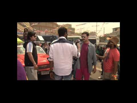 Making Of Chinta Ta Ta Chita Chita - Rowdy Rathore video