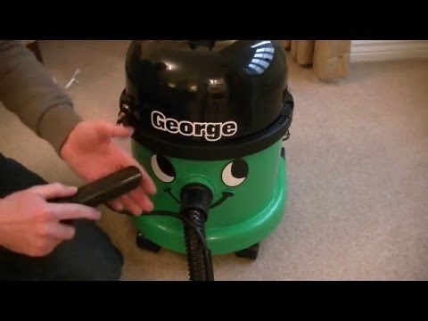Numatic George GVE 370 Multi Purpose Vacuum Cleaner Unboxing & First Look