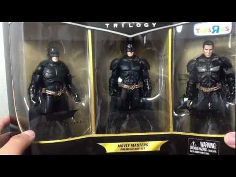 Movie Masters The Dark Knight Trilogy 3-Pack (Toys