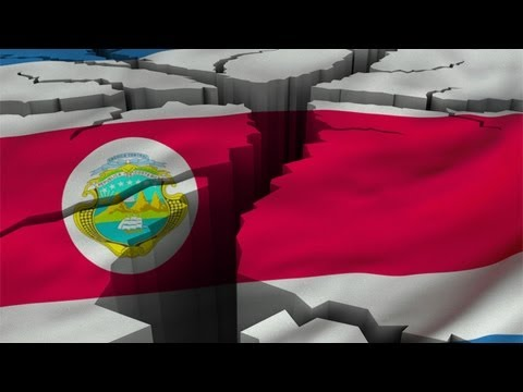 """COSTA RICA  Massive ! 6.6 EARTHQUAKE: """"Pacific Ring Of Fire Melts""""... Oct 23, 2012. Troubling!"""