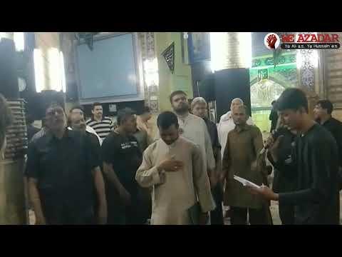 Pani Pyaso Ko Jab Pilaoge Ali Akabar Ali Bait E Noor 1440 Nohay Matam Ghareeb E Toos Subscribe This