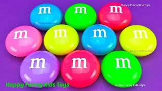 M&M Slime Surprise Toys Chupa Chups Kinder Eggs Fun for Kids