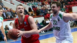 UNICS - Lokomotiv Kuban HIGHLIGHTS Eurocup quaterfinal 18.03.2015