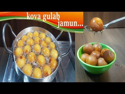 Gulab Jamun Recipe with Kova/koya/khoa food stop