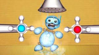 The Buddy vs All Antistress Liquids | Kick The Buddy