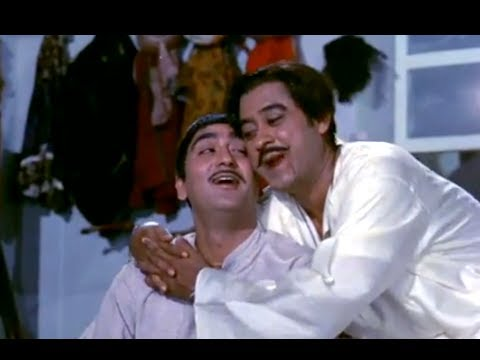 Meri Pyari Bindu - Classic Comedy Song - Kishore Kumar & Sunil Dutt - Padosan