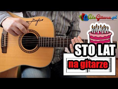 Jak zagrać na gitarze:: Sto lat (rytm, metrum, tab) | AleGitara.pl