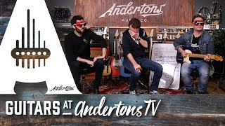 Blindfold T-Style Guitar Shootout with Danish Pete & Ariel Posen