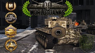 World of Tanks - T26E4 - 11 Kills - 6.7k Damage - 1vs6 [Replay|HD]