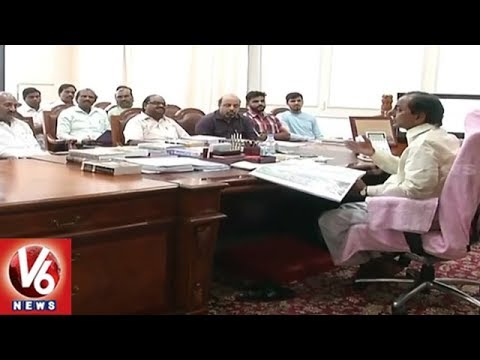 CM KCR Announces Recruitment Of 9,200 Secretary Posts In Panchayat Raj Dept | V6 News