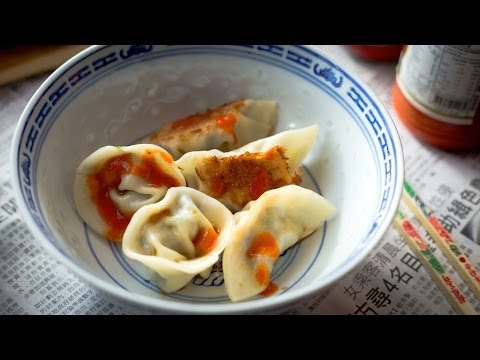 How to Make Chinese Pork Dumplings - Dishymama # 5