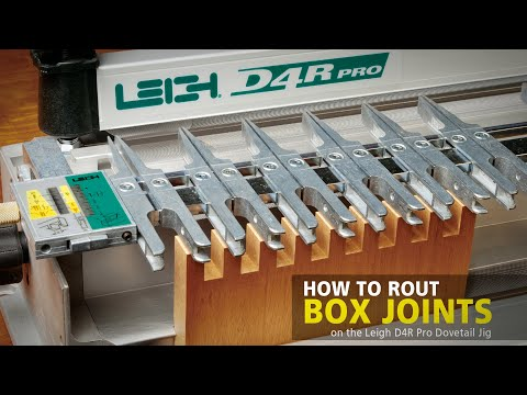 Leigh Super Jigs Finger Joints