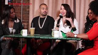 DJ Envy & Gia Casey Talk Money & Relationships @ Wealth Wednesday's (Part 1)
