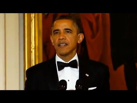 US President Barack Obama praises Led Zeppelin and Kennedy C
