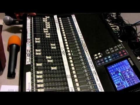 Yamaha Digital Mixing Console LS9-32 Tutorial by Haniel Trisna p1of3