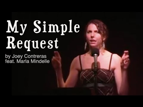 Marla Mindelle sings My Simple Request
