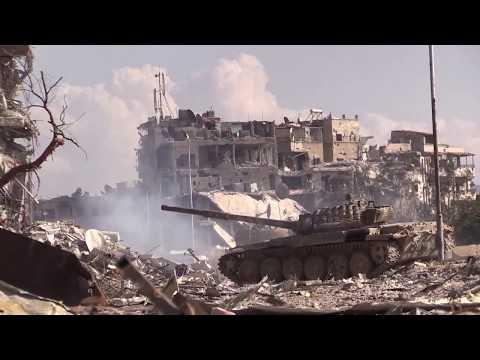 Эксклюзивные кадры уничтожения последних боевиков в Ярмуке