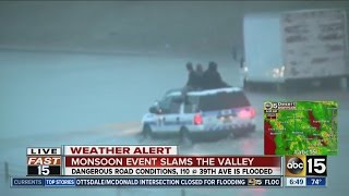 DPS rescues drivers on Interstate 10 in Phoenix