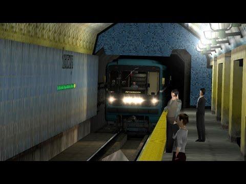 Garry's Mod Metrostroi Nomernoy 81-717/714 ( Гаррис мод , Метрострой Номерной 81-717/714 )